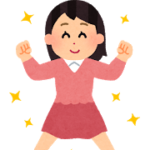 元気pose_genki04_woman